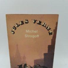 Libros antiguos: MICHEL STROGOFF. JULES VERNE. ED. BRODARD ET TAUPIN. PARIS, 1966. PAGS: 498.. Lote 252104675