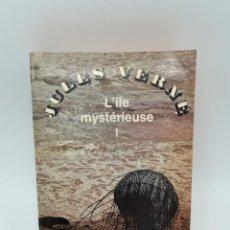 Libros antiguos: L ILE MYSTERIEUSE I. JULES VERNE. ED. BRODARD ET TAUPIN. PARIS, 1966. PAGS: 442.. Lote 252104830
