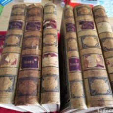 Libros antiguos: HISTÒRIA GENERAL ESPAÑA LAFUENTE 1879 MONTANER Y SIMÓN 6 TOMOS COMPLETA. Lote 252454395
