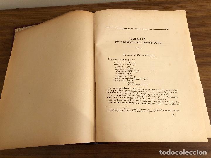 Libros antiguos: GASTRONOMIE PRACTIQUE. ALI-BAB. 1 al 624 / 625 al 1281. Ernest Flammarion - 1931 - Foto 8 - 252681320