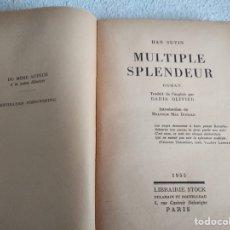 Libros antiguos: MULTIPLE SPLENDEUR DE HAN SUYIN. Lote 252960655