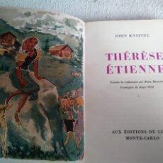 Libros antiguos: THÉRÈSE ÉTIENNE DE JOHN KNITTEL. Lote 252969235