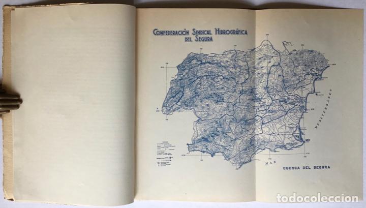 Libros antiguos: Exposición Iberoamericana de Sevilla. LA CONFEDERACION SINDICAL HIDROGRÁFICA DEL SEGURA. Año 1929. - - Foto 3 - 123268774