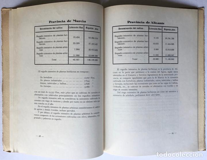 Libros antiguos: Exposición Iberoamericana de Sevilla. LA CONFEDERACION SINDICAL HIDROGRÁFICA DEL SEGURA. Año 1929. - - Foto 4 - 123268774