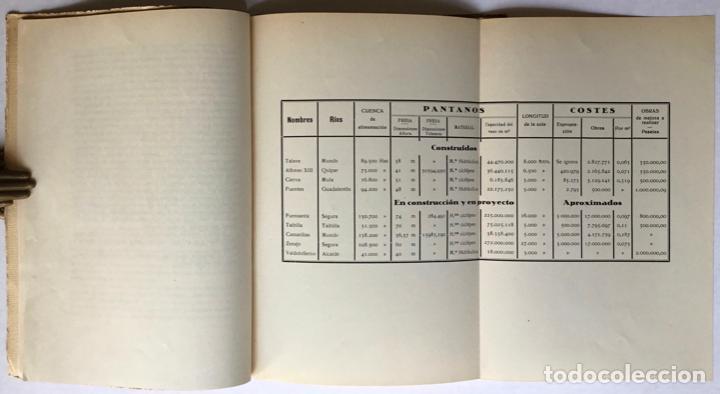 Libros antiguos: Exposición Iberoamericana de Sevilla. LA CONFEDERACION SINDICAL HIDROGRÁFICA DEL SEGURA. Año 1929. - - Foto 5 - 123268774