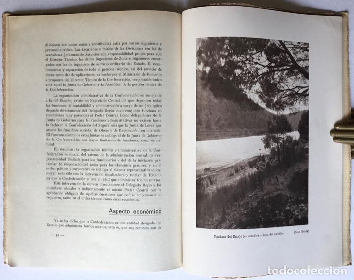 Libros antiguos: Exposición Iberoamericana de Sevilla. LA CONFEDERACION SINDICAL HIDROGRÁFICA DEL SEGURA. Año 1929. - - Foto 7 - 123268774