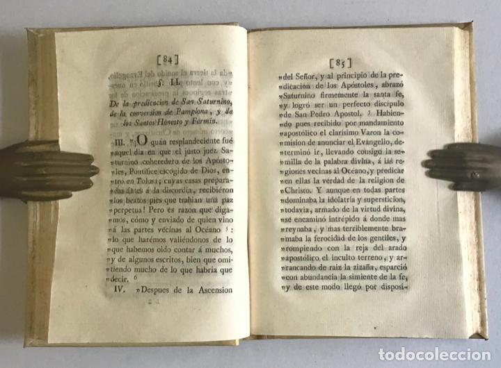 Libros antiguos: ACTAS SINCERAS NUEVAMENTE DESCUBIERTAS DE LOS SANTOS SATURNINO, HONESTO...MACEDA, Miguel Joseph de. - Foto 3 - 253249415