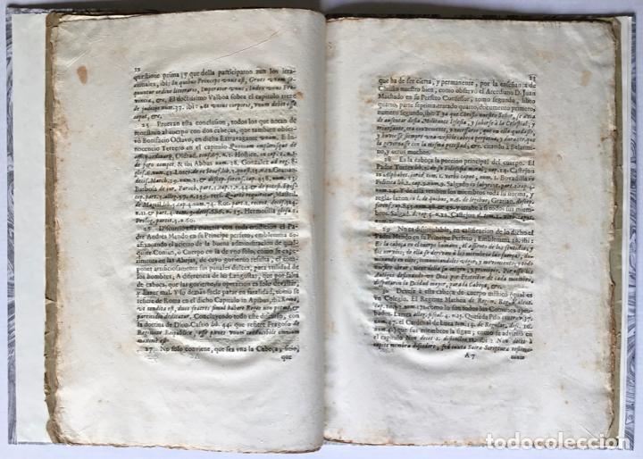 Libros antiguos: POR EL MUY ILUSTRE, Y FIDELISSIMO BRAÇO MILITAR. Sobre el acierto con que revocò las ordinaciones he - Foto 4 - 123255268