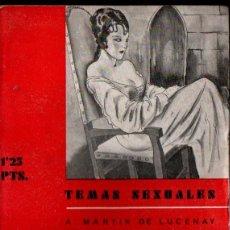 Libros antiguos: MARTIN DE LUCENAY : MUJERES DE HISTORIA (FENIX, 1933). Lote 253517795