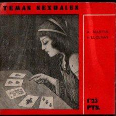 Libros antiguos: MARTIN DE LUCENAY : SUPERSTICIONES DEL EMBARAZO (FENIX, 1933). Lote 253518050