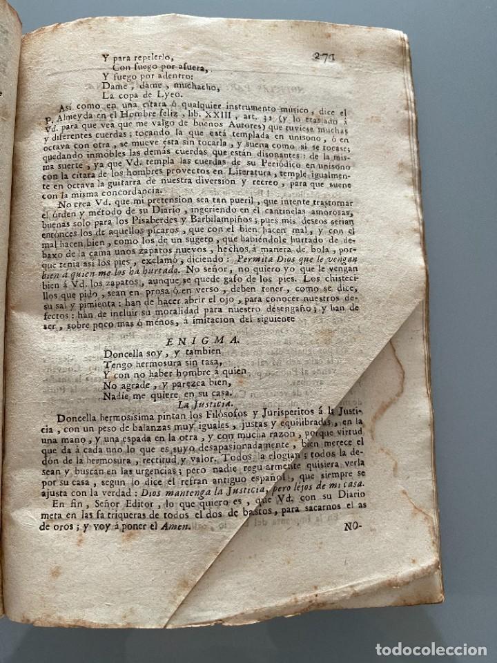 Libros antiguos: Diarios de Barcelona que comprehende los meses de Octubre, Noviembre y Diciembre 1792 (92 diarios) - Foto 28 - 253633240