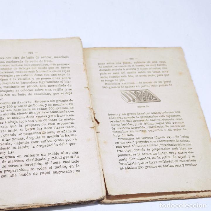 Libros antiguos: Interesante obra Tesoro del confitero y repostero. Manual práctico. Obra indispensable.Madrid. 1896. - Foto 10 - 253895830