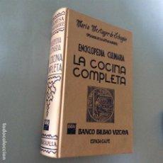 Libros antiguos: LA COCINA COMPLETA, MARIA MESTAYER DE ECHAGUE (MARQUESA DE PARABERE), ED. ESPASA CALPE, 1990. Lote 254020355