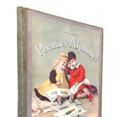 Libri antichi: 1900 - RARA ABECEDARIO INFANTIL ILUSTRADO - GRABADOS Y LÁMINAS - LIBRO DE NIÑOS PARA APRENDER A LEER. Lote 254083690