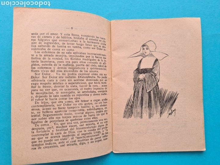 Libros antiguos: SOR DEDAL - VICENTE DIEZ DE TEJADA - COL. LA NOVELA DE HOY Nº 328 AÑO 1928 ILUSTRACIONES DE RAMIREZ - Foto 4 - 254181690