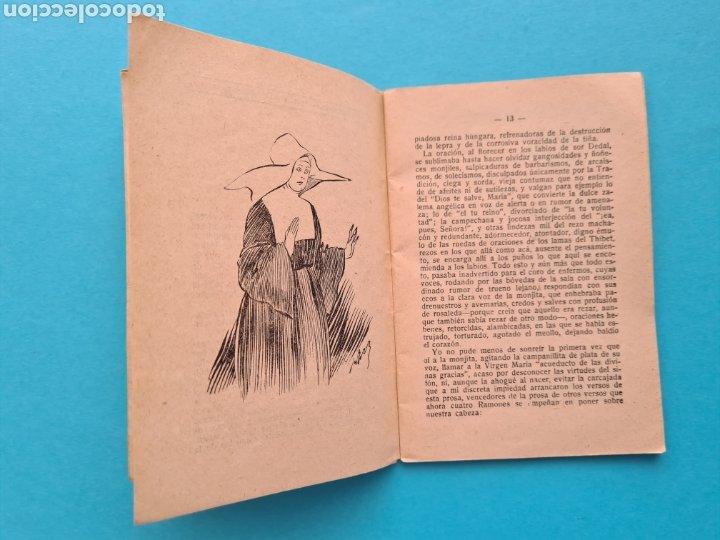 Libros antiguos: SOR DEDAL - VICENTE DIEZ DE TEJADA - COL. LA NOVELA DE HOY Nº 328 AÑO 1928 ILUSTRACIONES DE RAMIREZ - Foto 5 - 254181690