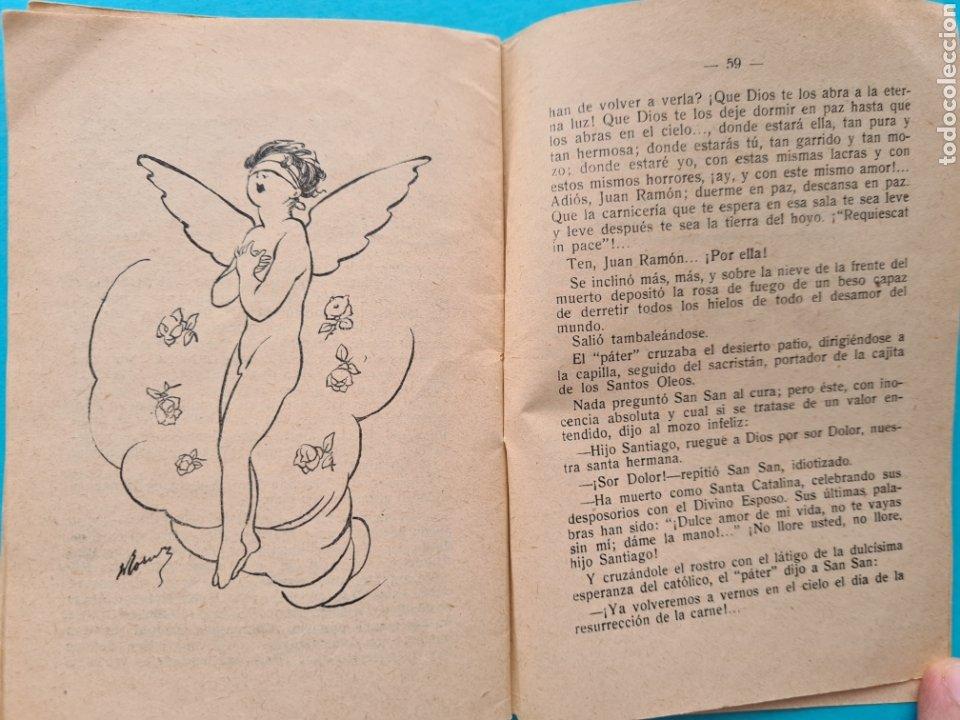 Libros antiguos: SOR DEDAL - VICENTE DIEZ DE TEJADA - COL. LA NOVELA DE HOY Nº 328 AÑO 1928 ILUSTRACIONES DE RAMIREZ - Foto 9 - 254181690
