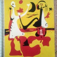Libros antiguos: NÚMERO DE INVIERNO DE 1934 DE LA REVISTA D'ACÍ I D'ALLÀ. CON EL FAMOSO POCHOIR DE JOAN MIRÓ. Lote 254209710