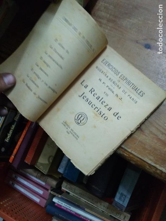 Libros antiguos: La realeza de Jesucristo, R. P. Félix, S. J. 1923. L.24947 - Foto 2 - 254410115