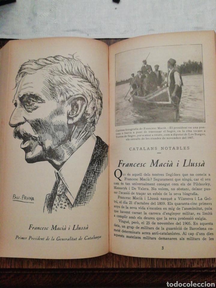Libros antiguos: CURIOSITATS DE CATALUNYA PRIMER SEMESTRE 1936 - Foto 3 - 254434640
