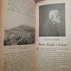Libros antiguos: CURIOSITATS DE CATALUNYA PRIMER SEMESTRE 1936. Lote 254434640