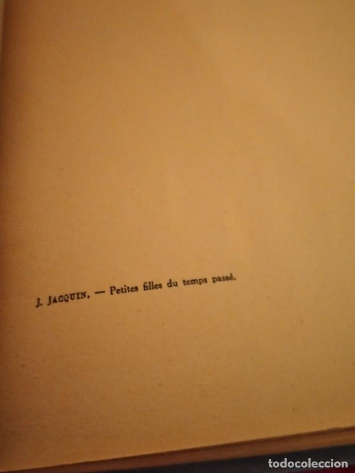 Libros antiguos: j.jacquin petites filles du temps passé illustrations de rene vincent,1929 - Foto 2 - 254438475