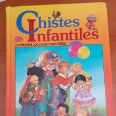 Libros antiguos: CHISTE INFANTILES LOS MEJORES 200 CHISTES PARA NIÑOS. Lote 254443040