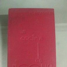 Libros antiguos: 1933. PRIMERA EDICIÓN. LA COCINA DE NICOLASA - NICOLASA PRADERA. Lote 254470485