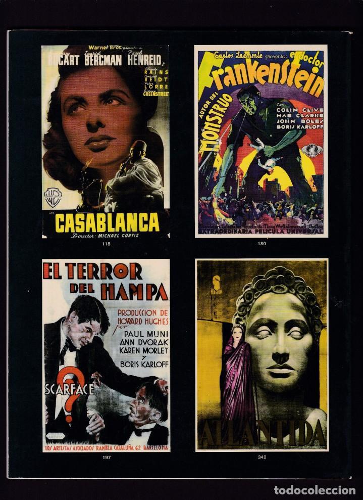 Libros antiguos: CARTELES DE CINE ANTIGUOS - CATALOGO SUBASTA - SOLER Y LLACH / DICIEMBRE 2001 - Foto 2 - 254597685