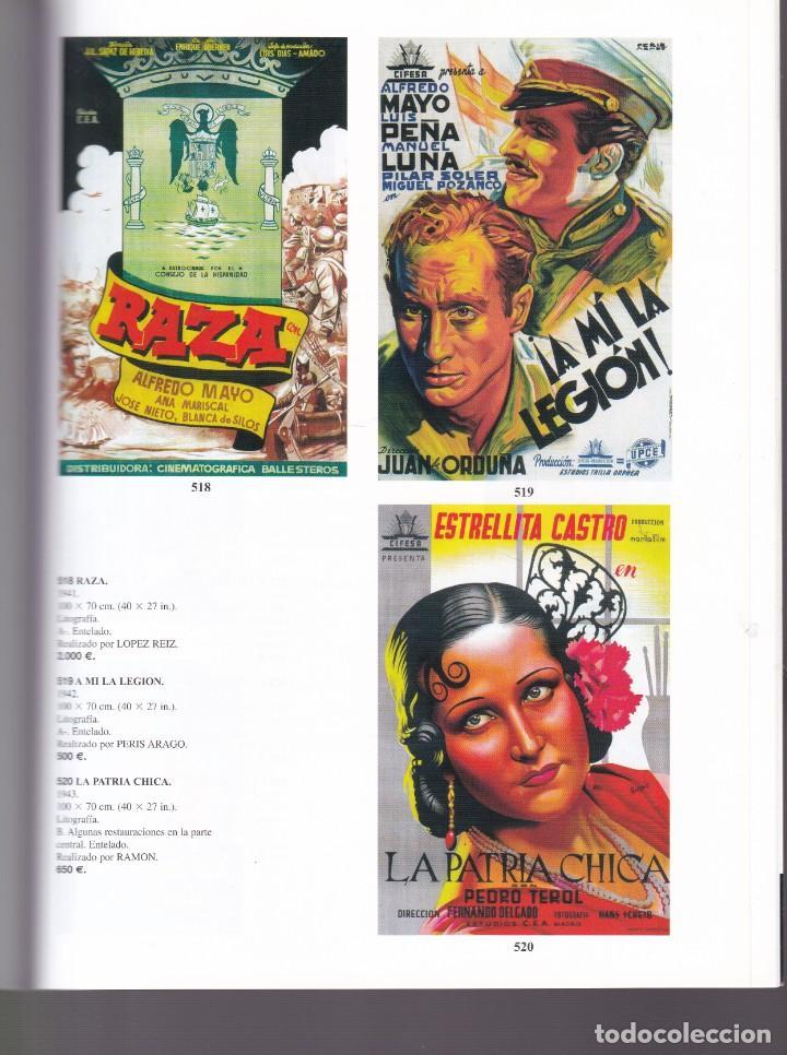 Libros antiguos: CARTELES DE PUBLICIDAD Y CINE ANTIGUOS - CATALOGO SUBASTA - SOLER Y LLACH / ENERO 2003 - Foto 2 - 254598480