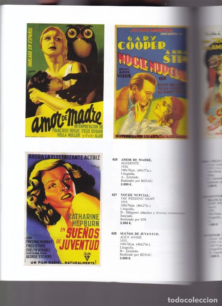 Libros antiguos: CARTELES DE PUBLICIDAD Y CINE ANTIGUOS - CATALOGO SUBASTA - SOLER Y LLACH / OCTUBRE 2005 - Foto 2 - 254599130