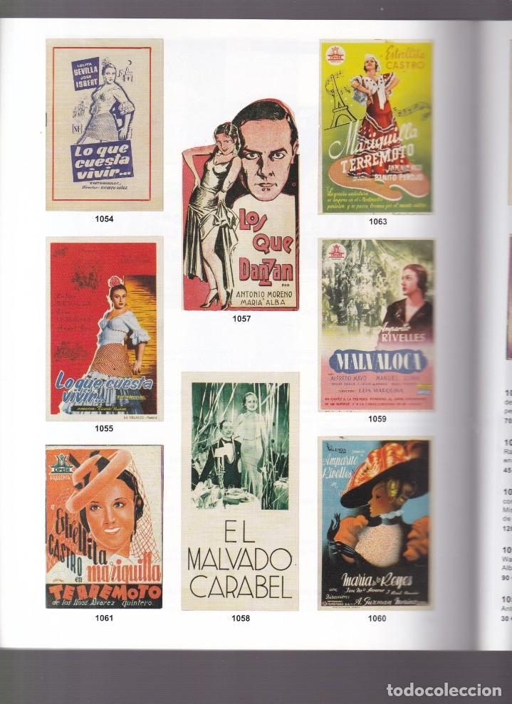 Libros antiguos: 1000 PROGRAMAS DE MANO DE CINE - CATALOGO - SOLER Y LLACH / JUNIO 2003 - Foto 3 - 254604570