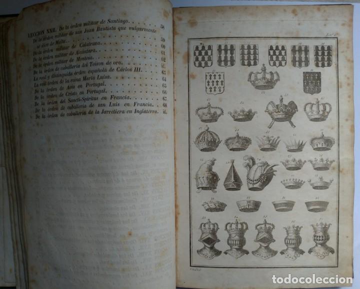 Libros antiguos: Tratado de Heráldica y Blason. 1885/1887 - Foto 8 - 254770140