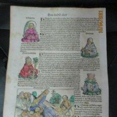 Libros antiguos: CRONICAS DE NUREMBERG . 1493 , LUDWIG EL REY DE FRANCIA. Lote 254855510