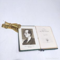 Libros antiguos: AZORÍN. LA RUTA DE DON QUIJOTE. CRISOLÍN. Nº4. 1ª EDICIÓN. 1951. AGUILAR. MADRID.. Lote 255020730
