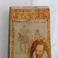 Libros antiguos: ANTIGUO LIBRO EL QUIJOTE.. Lote 255396810