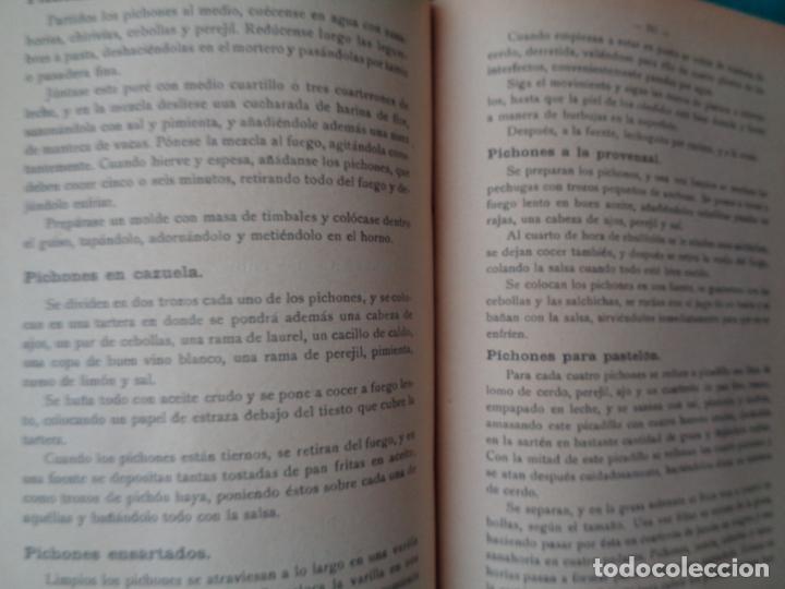 Libros antiguos: COCINA. LA COCINA PRÁCTICA, PUGA Y PARGA,MANUEL MARÍA (PICADILLO) - Foto 4 - 255484825