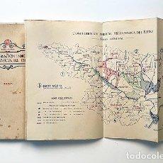 Libros antiguos: CONFEDERACIÓN HIDROGRÁFICA DEL EBRO (1931) ALMUDÉVAR, ALCALÁ DE GURREA, GÁLLEGO, MONZÓN, ETC.. Lote 255520680