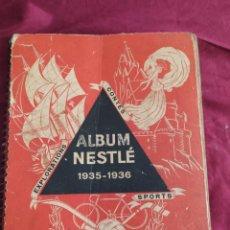 Libros antiguos: FABULOSO ÁLBUM NESTLÉ 1935-1936. Lote 255559250