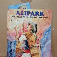 Libros antiguos: ALIPARK HOGUERAS DE SAN JUAN 94 ALICANTE. Lote 255566855