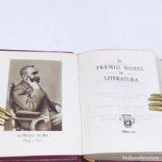 Libros antiguos: EL PREMIO NOBEL DE LITERATURA. ALFREDO NOBEL. CRISOLÍN. Nº2. 1ª EDICIÓN. 1949. AGUILAR. MADRID.. Lote 255633405