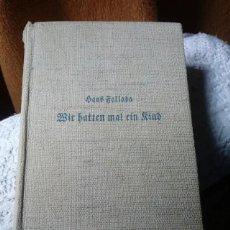 Libros antiguos: HANS FALLABA. Lote 255972030