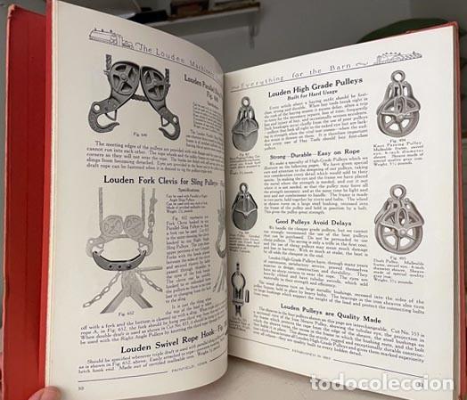 CATÁLOGO THE LOUDEN MACHINERY Nº 53. 1928. HERRAMIENTAS PARA ESTABLOS. INSTRUMENTOS. LECHERÍA. (Libros Antiguos, Raros y Curiosos - Ciencias, Manuales y Oficios - Otros)