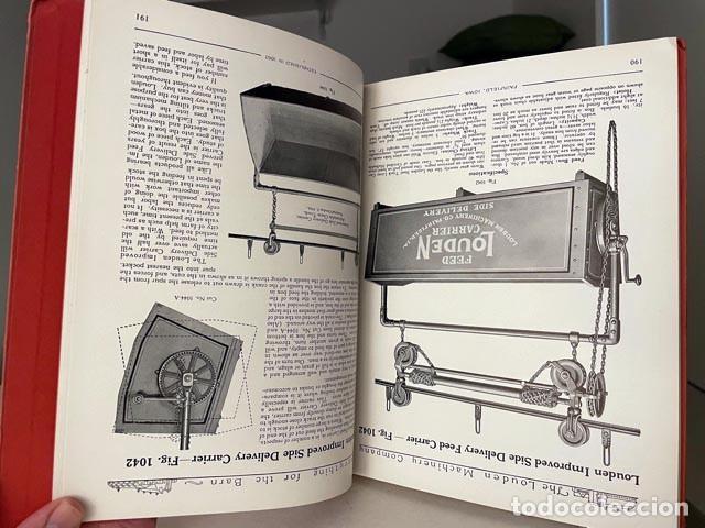 Libros antiguos: Catálogo THE LOUDEN MACHINERY nº 53. 1928. Herramientas para establos. Instrumentos. Lechería. - Foto 3 - 255996335
