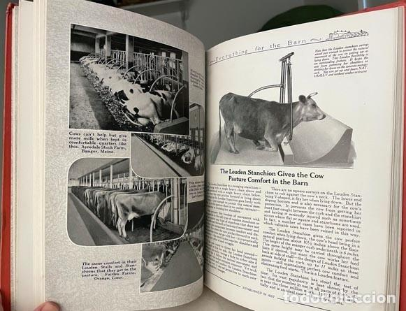 Libros antiguos: Catálogo THE LOUDEN MACHINERY nº 53. 1928. Herramientas para establos. Instrumentos. Lechería. - Foto 4 - 255996335