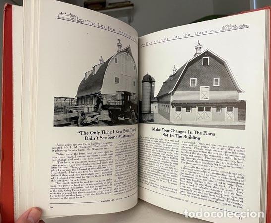 Libros antiguos: Catálogo THE LOUDEN MACHINERY nº 53. 1928. Herramientas para establos. Instrumentos. Lechería. - Foto 5 - 255996335