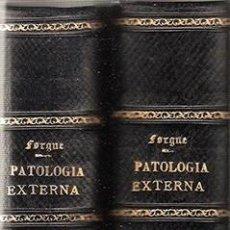 Libros antiguos: PATOLOGIA EXTERNA - TOMOS I Y II - AÑO 1935. Lote 256067695