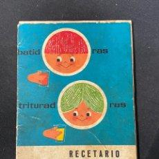 Libros antiguos: RECETARIO SUPERMIX. Lote 256124710