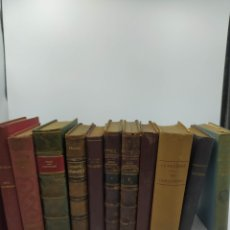 Libros antiguos: LOTE 12 LIBROS EN FRANCÉS ANTIGUOS,. Lote 256150330