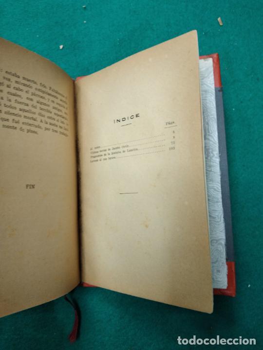 Libros antiguos: HUGO FOSCOLO. ULTIMAS CARTAS DE JACOBO ORTIZ. 1920. BELLA ENCUADERNACION EN MEDIA PIEL CON NERVIOS. - Foto 4 - 257400870